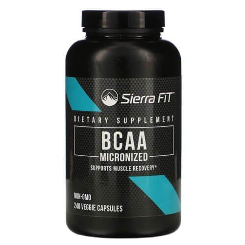 Sierra Fit Micronized BCAA 240 капсул