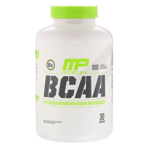 MusclePharm Essentials BCAA 240 капсул