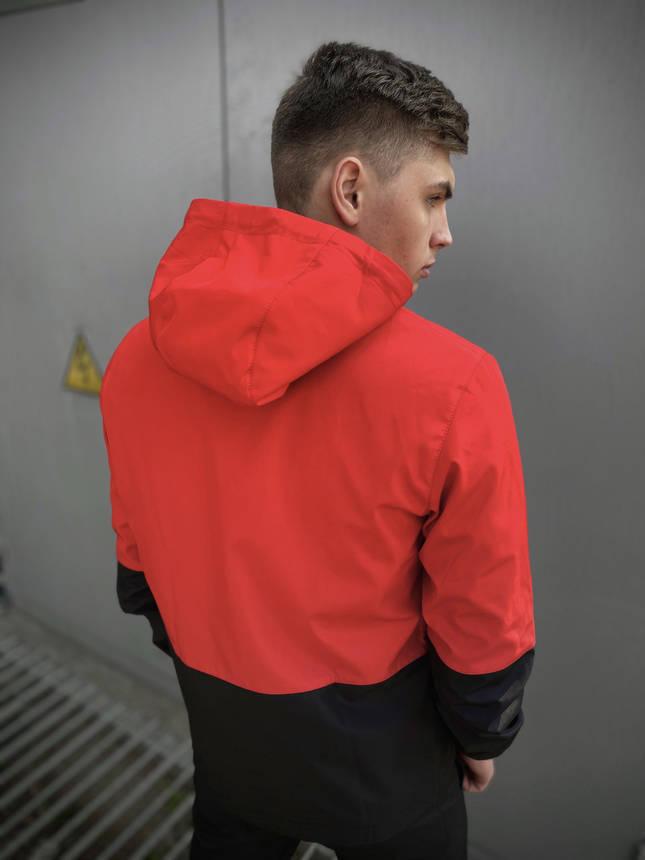 """Мужская весенняя куртка красно-черная Intruder """"SoftShell light"""", фото 2"""