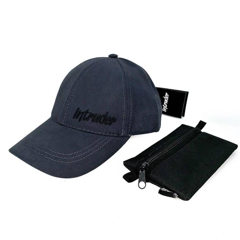 Кепка Intruder чоловіча | жіноча сіра брендовий + Фірмовий подарунок, фото 2