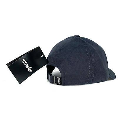 Кепка Intruder чоловіча | жіноча сіра брендовий + Фірмовий подарунок, фото 3