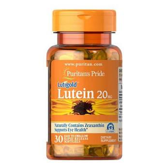 Лютеин, Puritan'sPride Lutein 20 mg with Zeaxanthin 30 капсул