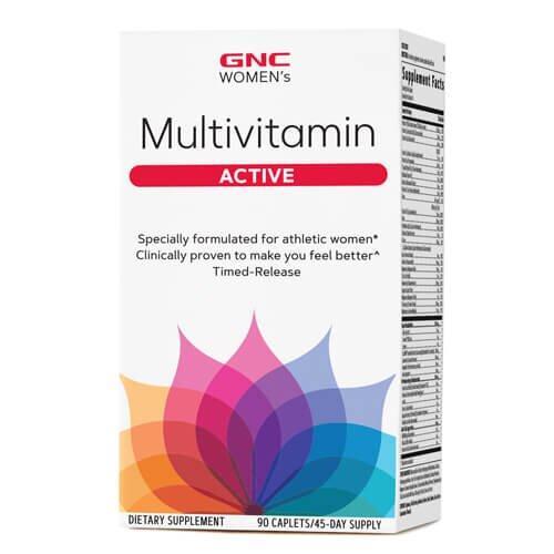Комплекс витаминов и минералов для женщин, GNC Women's Multivitamin Active 90 таб
