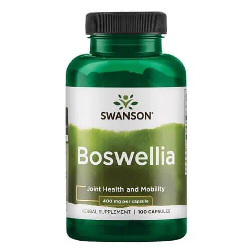 Экстракт ладана, Swanson Boswellia 400 mg 100 капсул