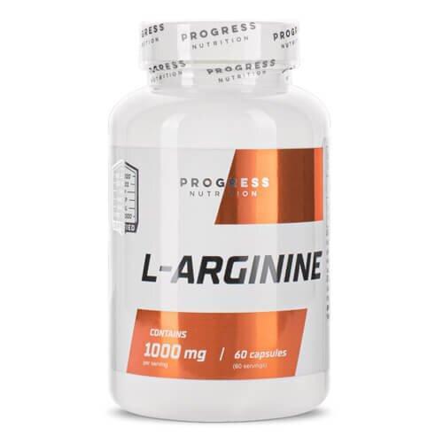 Л аргінін, Progress L-Arginine 60 капсул