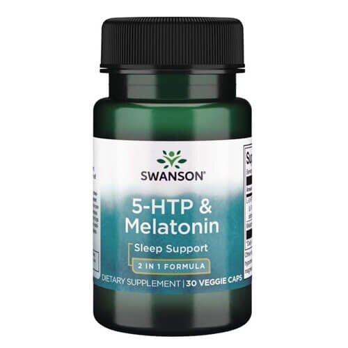 Swanson 5-HTP & Melatonin 30 капсул