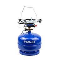 Балон газовий кемпінг з п'єзопідпалом Comfort 5л SIGMA 2903111