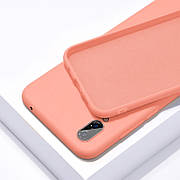 Силиконовый чехол SLIM на iPhone 11 Peach