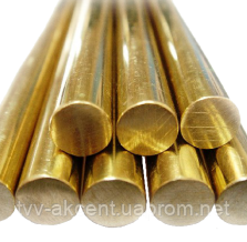Круг бронзовий БрАЖМЦ10-3-1,5 ф16 - 160мм
