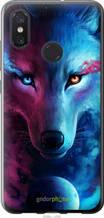 "Чехол на Xiaomi Mi8 Арт-волк ""3999u-1499-2448"""