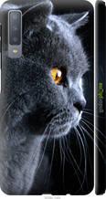"Чохол на Samsung Galaxy A7 (2018) A750F Красивий кіт ""3038c-1582-2448"""