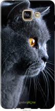 "Чехол на Samsung Galaxy A9 A9000 Красивый кот ""3038u-107-2448"""