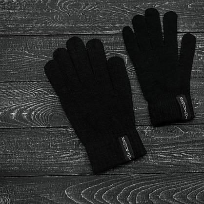 Чоловіча шапка Fila (Філа) чорна, зимова, фото 3