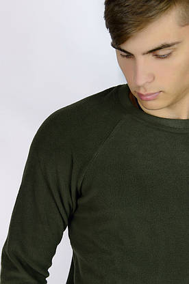 Чоловічий світшот флісовий хакі Intruder, фото 3