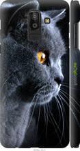 """Чехол на Samsung Galaxy J8 2018 Красивый кот """"3038c-1511-2448"""""""