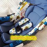 Дитяче автокрісло-бебикокон, автолюлька для новонароджених група 0+ (0-13кг) El Camino Newborn., фото 2
