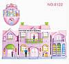 Домик для кукол с мебелью Happy Family арт.8122