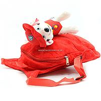 Рюкзак с игрушкой Kinder Toys «Щенячий патруль» Маршал 30х10х20 см (24748-1), фото 2