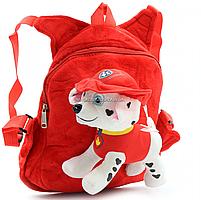 Рюкзак с игрушкой Kinder Toys «Щенячий патруль» Маршал 30х10х20 см (24748-1), фото 3