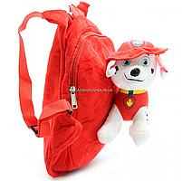 Рюкзак с игрушкой Kinder Toys «Щенячий патруль» Маршал 30х10х20 см (24748-1), фото 4