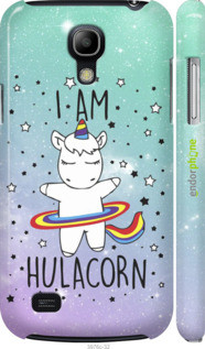 "Чехол на Samsung Galaxy S4 mini I'm hulacorn ""3976c-32-2448"""