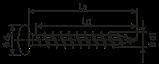 Саморез SPAX с покр. WIROX 3,0х30 полная резьба, полукр. гол., PZ1, S point, упак. 1000 шт., пр-во Германия, фото 2
