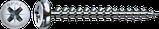 Саморез SPAX с покр. WIROX 3,0х30 полная резьба, полукр. гол., PZ1, S point, упак. 1000 шт., пр-во Германия, фото 5
