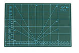 Коврик для раскроя кожи и ткани двухсторонний А3 297 x 420  цвет Ассорти, фото 2