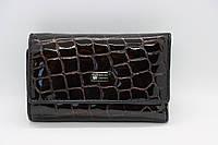 Жіноча шкіряна ключниця Wanlima 81092670792b1 Black/Gray, фото 1