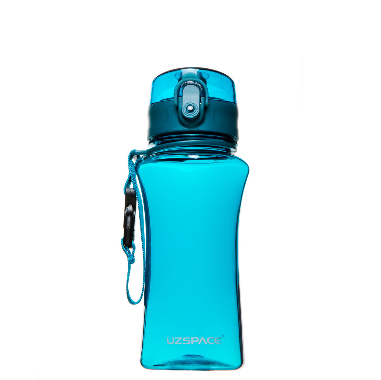 Пляшка для напоїв 350 мл Uzspace Wasser блакитна (серія 6005)
