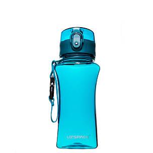 Пляшка для напоїв 350 мл Uzspace Wasser блакитна (серія 6005), фото 2