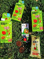 Натуральні цукерки Snail Bob Яблуко-Груша, 20 г + іграшка