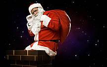 Мішок Санта Клауса, мішок для подарунків 80*60