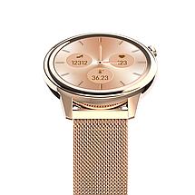 Розумні годинник Lemfo F80 Metal з підтримкою вимірювання тиску і температури (Золотий), фото 2