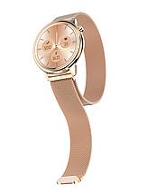 Розумні годинник Lemfo F80 Metal з підтримкою вимірювання тиску і температури (Золотий), фото 3