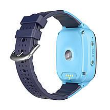 Дитячі смарт-годинник Lemfo LT25 c підтримкою 4G (Блакитний), фото 3