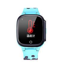 Дитячі смарт-годинник Lemfo LT25 c підтримкою 4G (Блакитний), фото 2