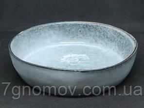 Набор 6 керамических салатников Гранит 20 см, фото 2