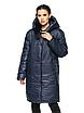 """Зимова жіноча довга куртка з вшитим капюшоном великих розмірів """"Марго"""", фото 2"""