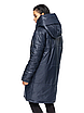 """Зимняя женская длинная куртка с вшитым капюшоном больших размеров """"Марго"""", фото 5"""