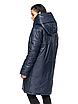 """Зимова жіноча довга куртка з вшитим капюшоном великих розмірів """"Марго"""", фото 5"""