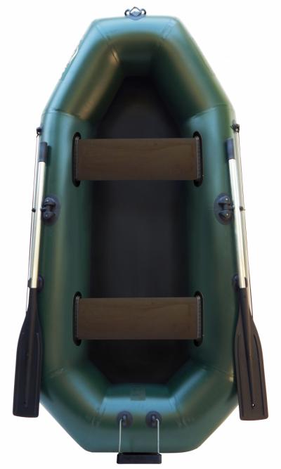 Надувная гребная двухместная лодка из пвх F240T