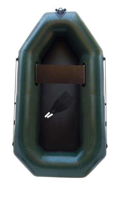 Надувная гребная одноместная лодка из пвх F190, Лисичанка Фортуна, 850г/м2