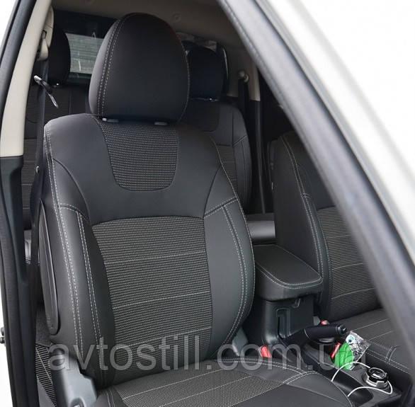 Чохли в салон Toyota Avensis 3 (рейстайлінг) авточохли авенсіс з 2013 - ..