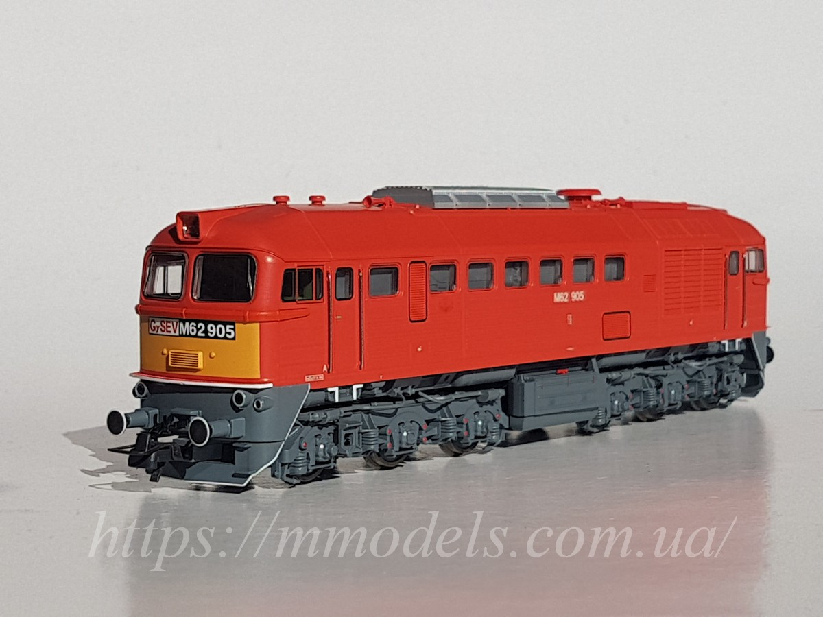 """Roco 73243 Модель тепловоза М62-905 """" Машка"""", принадлежности GYSEV, масштаба H0 1:87"""