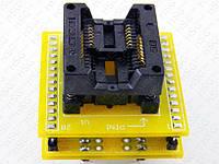 Переходник ZIF Socket SOP16, SOIC16 на DIP-28, фото 1