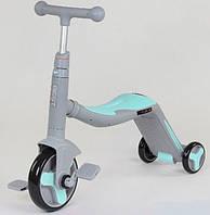Самокат 3 В 1 Jt 10181 Best Scooter Самокат-Велобег-Велосипед Светящиеся Колеса