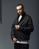 Куртка демісезонна чоловіча Пушка Огонь Yard чорна