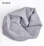Хомут Баффі шарф на шию весняний для дорослих і дітей, фото 4