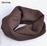 Хомут Баффі шарф на шию весняний для дорослих і дітей, фото 7